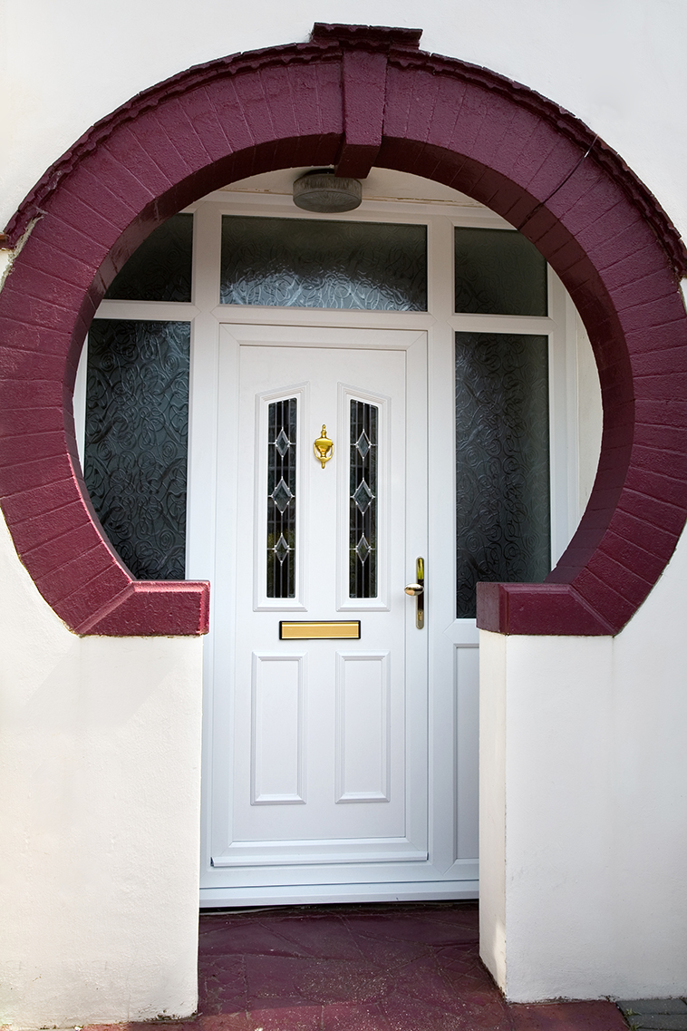Pvc U Front And Back Doors From Banbury Windows