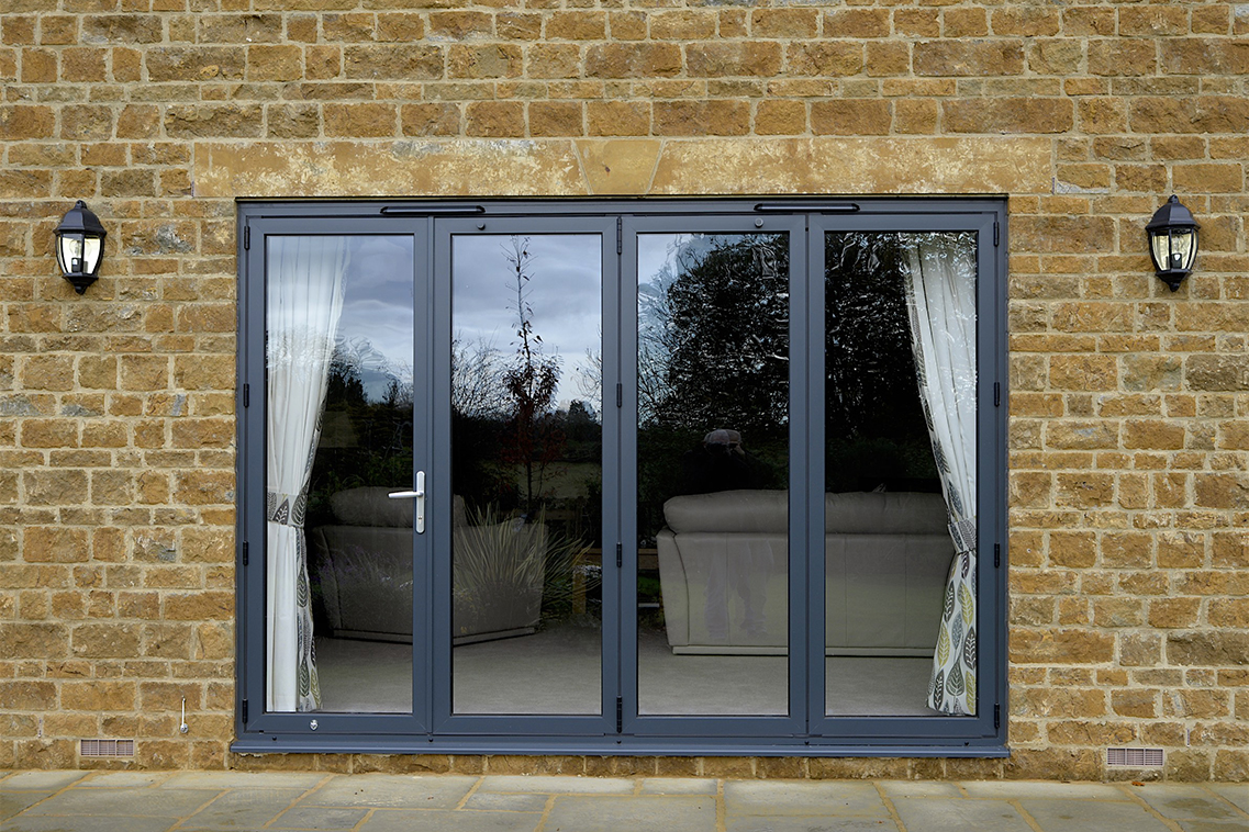 French patio and bi fold doors from banbury windows for French doors to deck